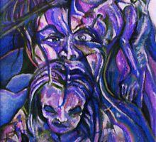 Seeking Inspiration (Digital Alteration of Painting)- by Robert Dye
