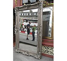 Mirror on Leith Walk Photographic Print