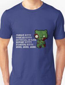 Zombie Kitty Unisex T-Shirt