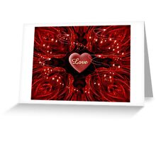 Love. Love, Love Greeting Card