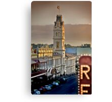 Ballarat Post Office Canvas Print