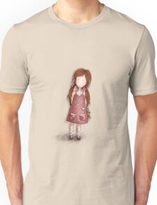 Girl with her teddy Tshirt 1 Unisex T-Shirt