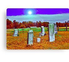 Dead History Canvas Print