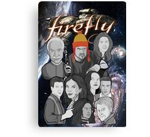 Firefly crew collage Canvas Print