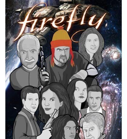 Firefly crew collage Sticker