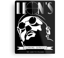 Leon's cleaning services. Metal Print