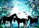 silhouettes of magic by dimarie