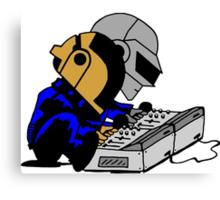 Daft Punk Peanuts Canvas Print