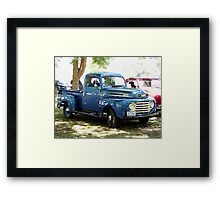 1948 Ford Pick Up Truck Framed Print