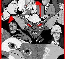 Gremlins 30th anniversary print by gjnilespop