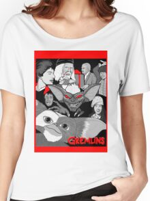 Gremlins 30th anniversary print Women's Relaxed Fit T-Shirt