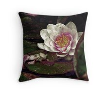 The Waterlily in my Pond Throw Pillow