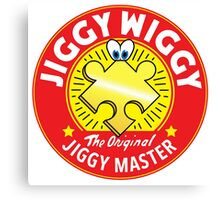 Jiggywiggy The Original Jiggy Master Canvas Print
