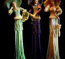 Three Victorian Ladies by suzannem73