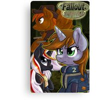 The Faces of Equestria Canvas Print