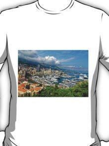 View of Monaco Bay T-Shirt