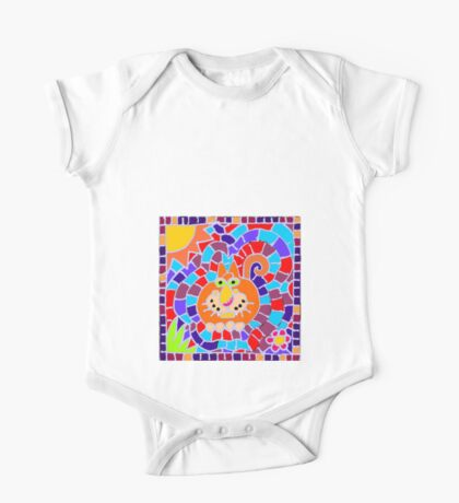 Stained glass One Piece - Short Sleeve