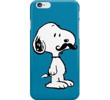 Mustache Snoopy iPhone Case/Skin