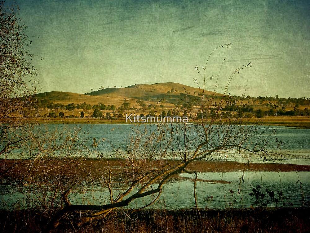 Afternoon on Dangars Lagoon, Northern Tablelands, NSW, Australia by Kitsmumma