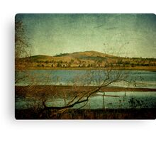 Afternoon on Dangars Lagoon, Northern Tablelands, NSW, Australia Canvas Print