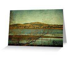 Afternoon on Dangars Lagoon, Northern Tablelands, NSW, Australia Greeting Card