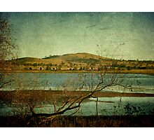 Afternoon on Dangars Lagoon, Northern Tablelands, NSW, Australia Photographic Print