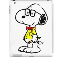 Snoopy nerd iPad Case/Skin