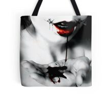 Stitched Smile  Tote Bag