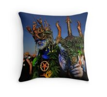 King Neptune Throw Pillow