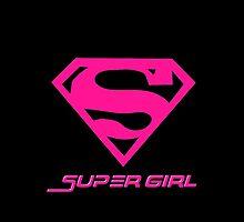 Pinky Super Girl  by refreshdesign