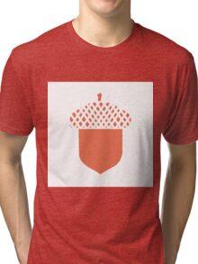 Peach Acorn Tri-blend T-Shirt