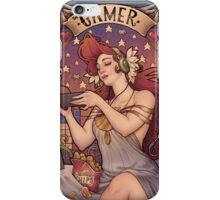 Gamer girl Nouveau iPhone Case/Skin