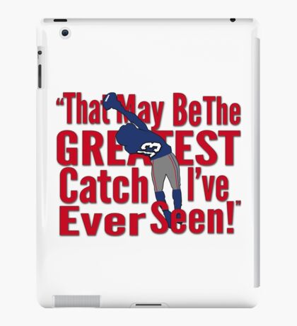 That May Be The Greatest Catch I've ever Seen iPad Case/Skin