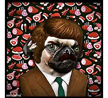 ron swanpug Photographic Print
