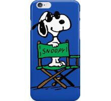 Snoopy director iPhone Case/Skin