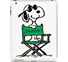Snoopy director iPad Case/Skin