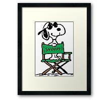 Snoopy director Framed Print