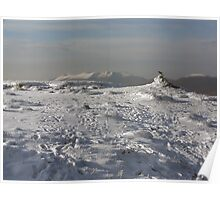 Mangerton mountain summit Poster