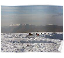 Mangerton in winter Poster