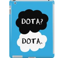 the fault in our wards iPad Case/Skin