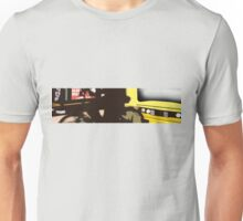 bus station, bike, me and the bus Unisex T-Shirt