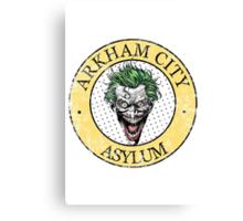 Arkham City Asylum Canvas Print