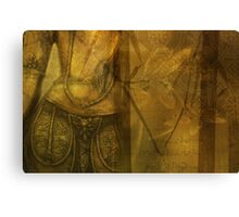 Golden Antiquity Canvas Print