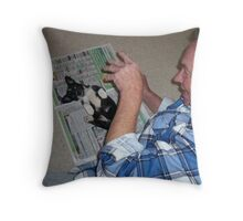 TICKLE, TICKLE... Throw Pillow
