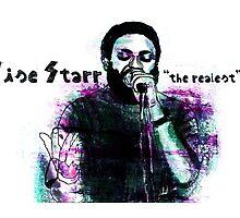 Cise Starr of C.Y.N.E by jlillustration