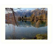 Peninsula Affection Mirrored.. Art Print