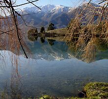 Peninsula Affection Mirrored.. by Robin Smith