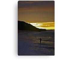 Sunrise over Winki Canvas Print
