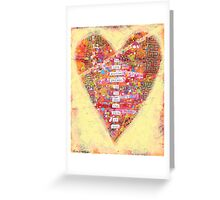 To love another person is to see the face of God. - Victor Hugo Greeting Card