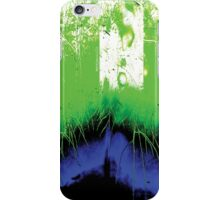 Psychmaster Lime Green Sod iPhone Case/Skin